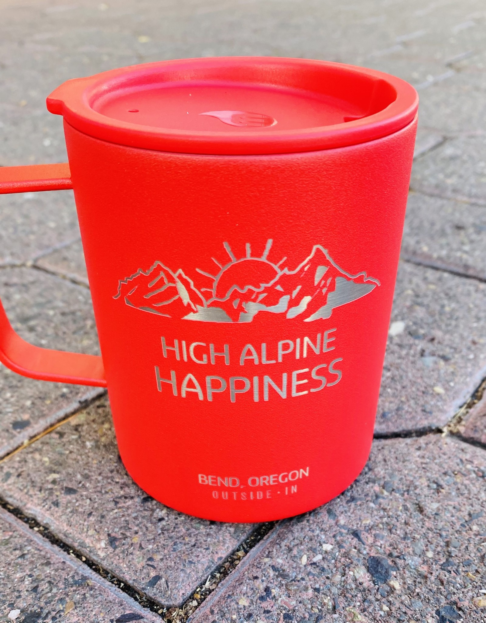 Outside In High Alpine Happiness Camp Cup Red