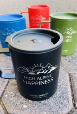 Outside In High Alpine Happiness Etched Camp Cup Blue