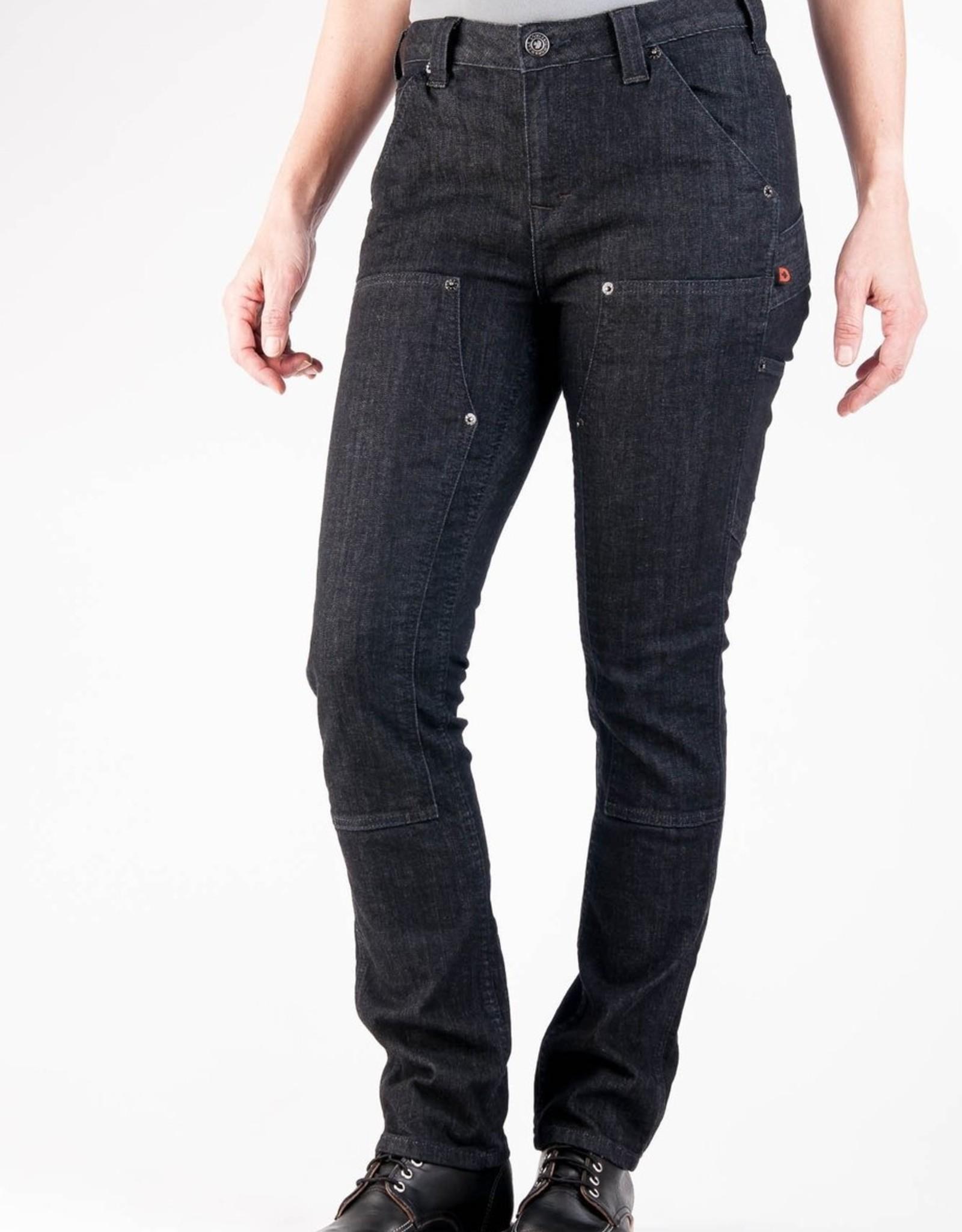 DOVETAIL Dovetail Womens Workwear Maven Pant - Black