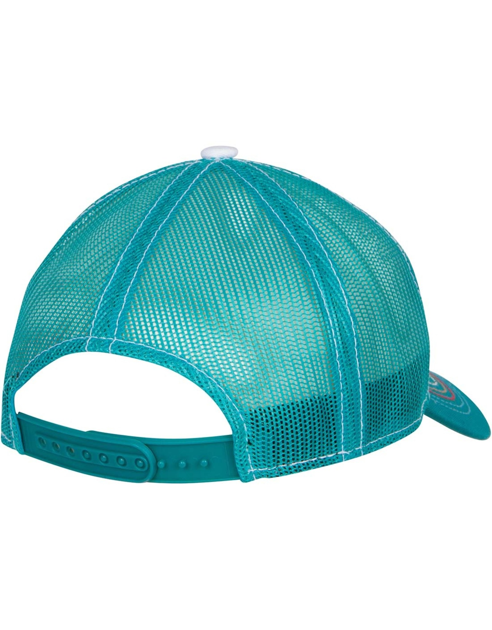 CA Republic Teal Trucker Hat