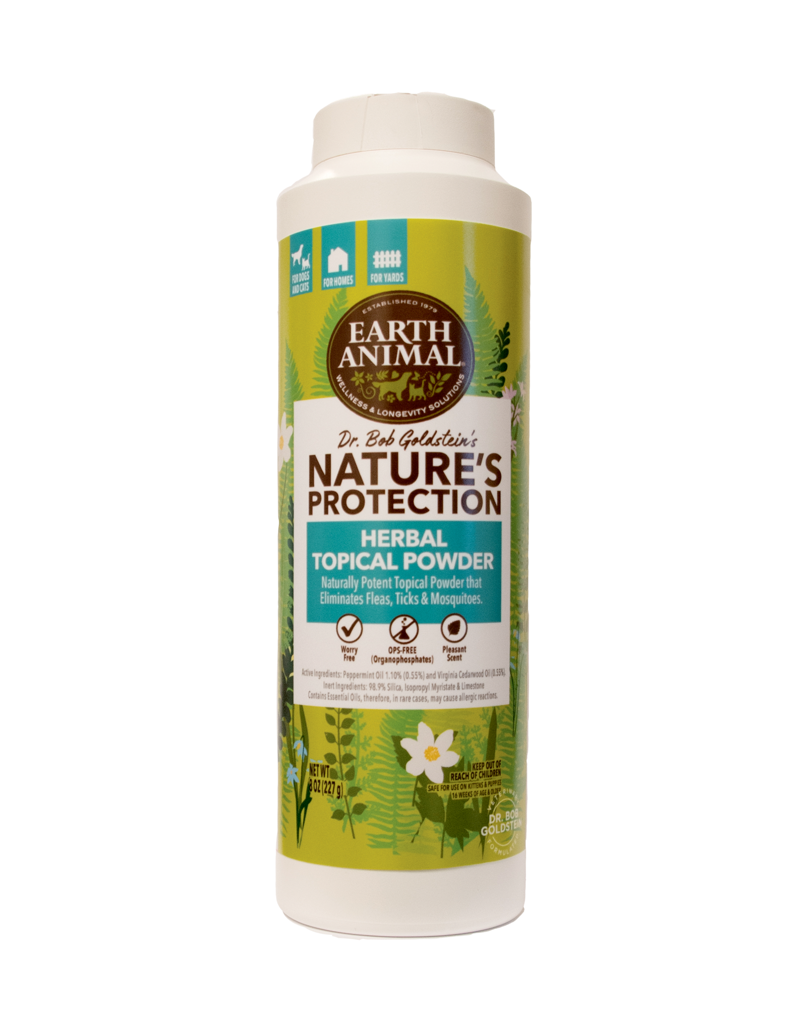 Earth Animal Earth Animal Herbal Topical Powder