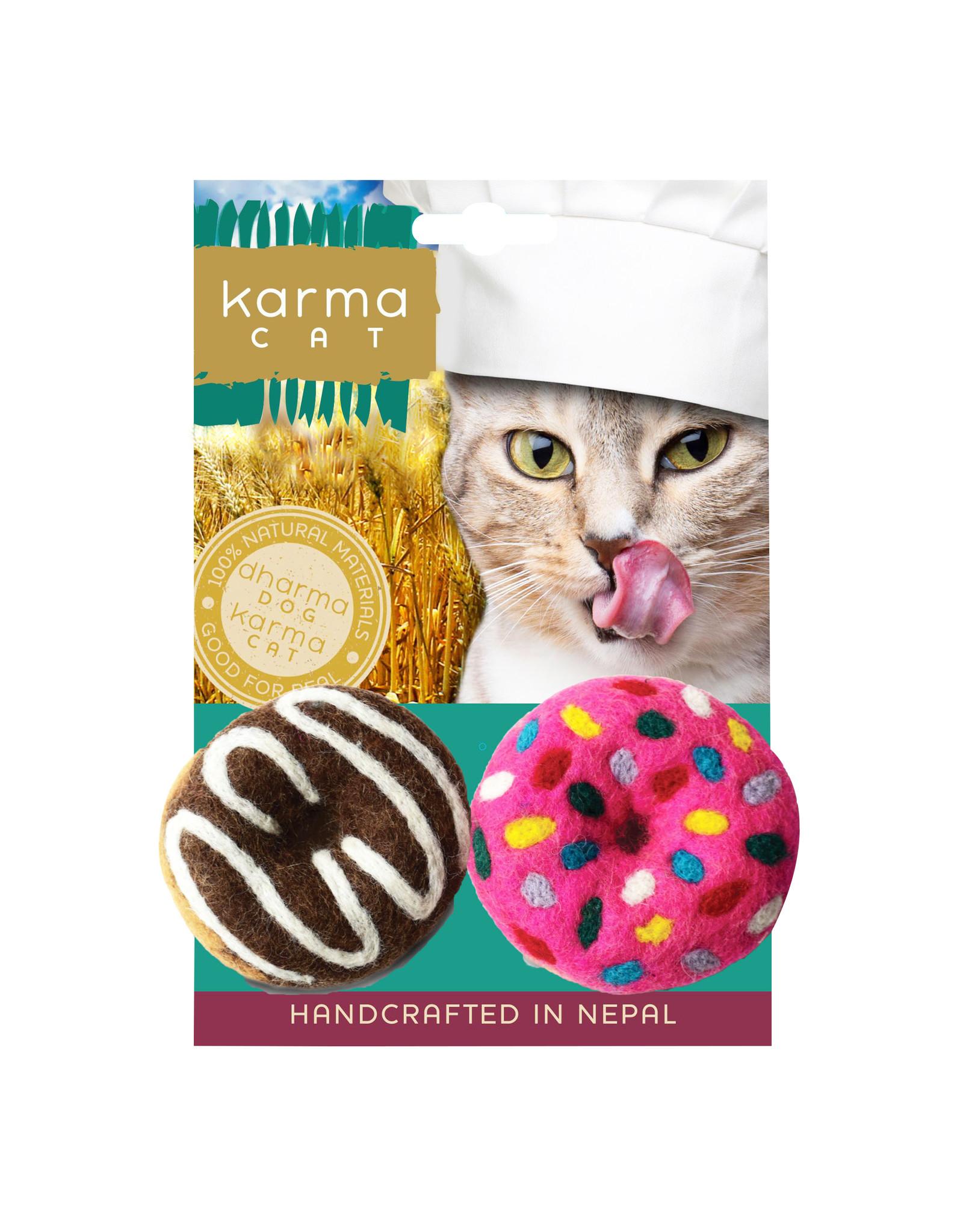 Dharma Dog Karma Cat Donuts 2pk