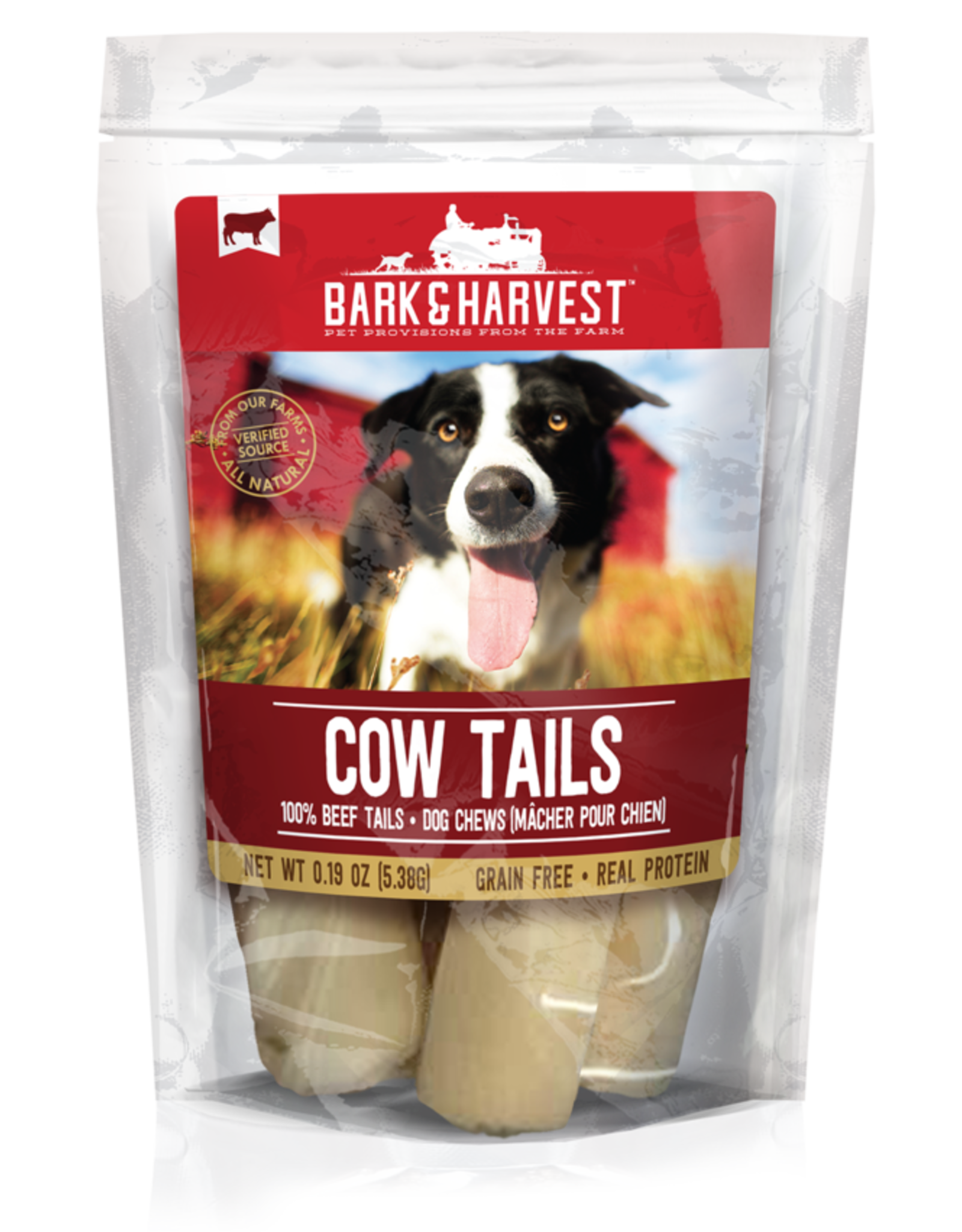 Superrior Farms Bark and Harvest Cow Tails 9ct Bag