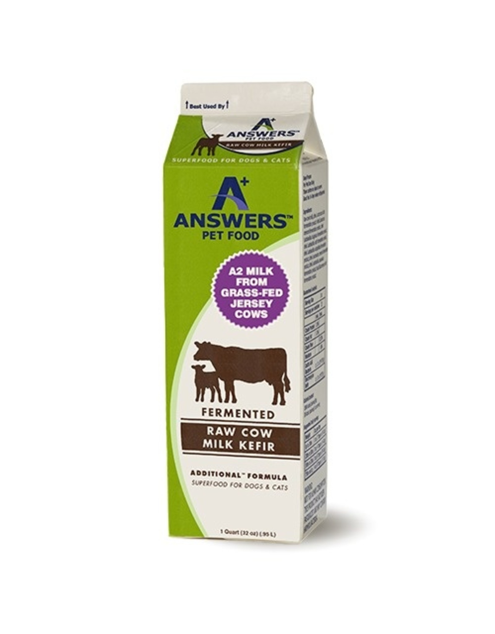 Answers Answers Raw Cow Milk Kefir