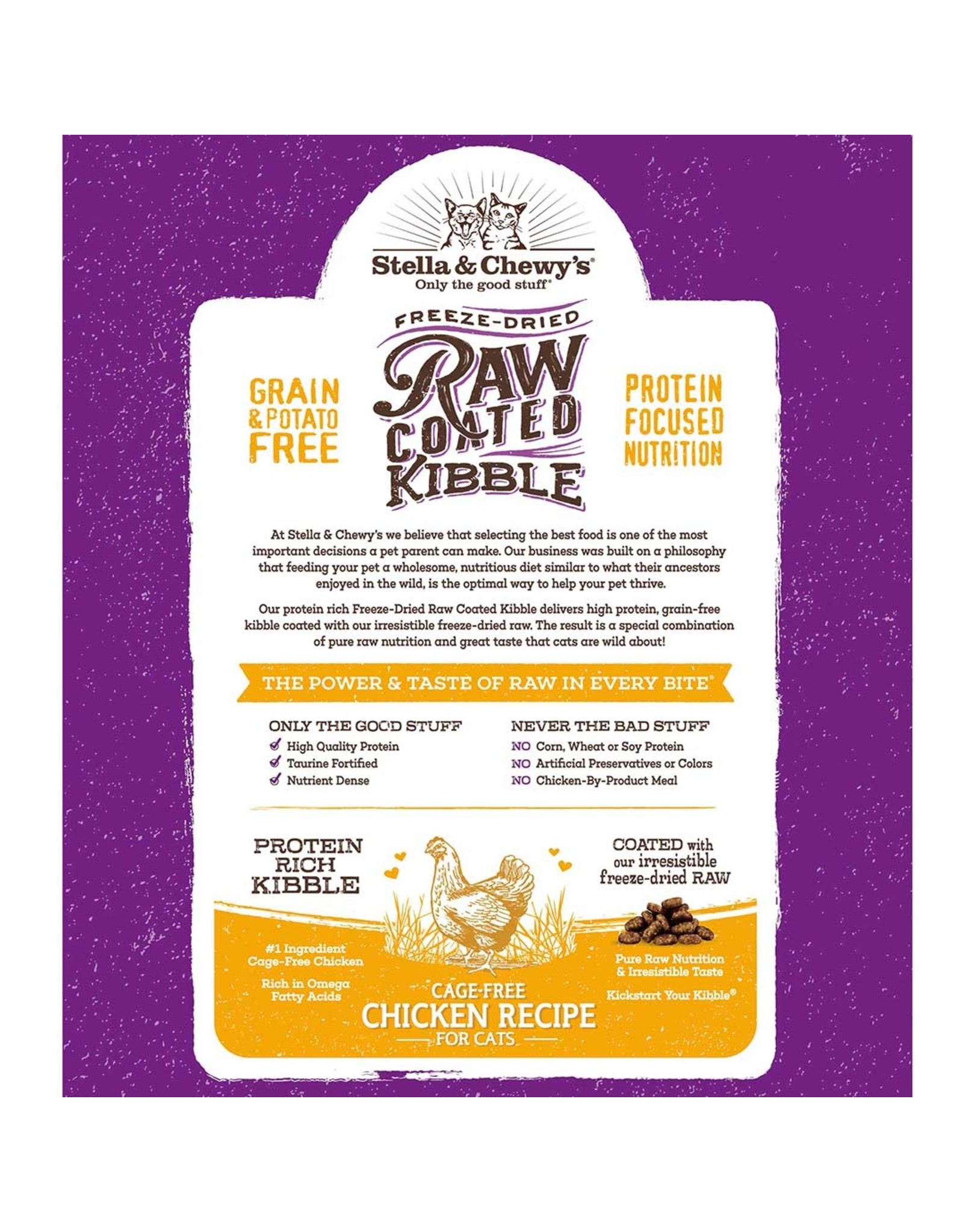 Stella & Chewy's Stella and Chewy's Cat Raw Coated Kibble