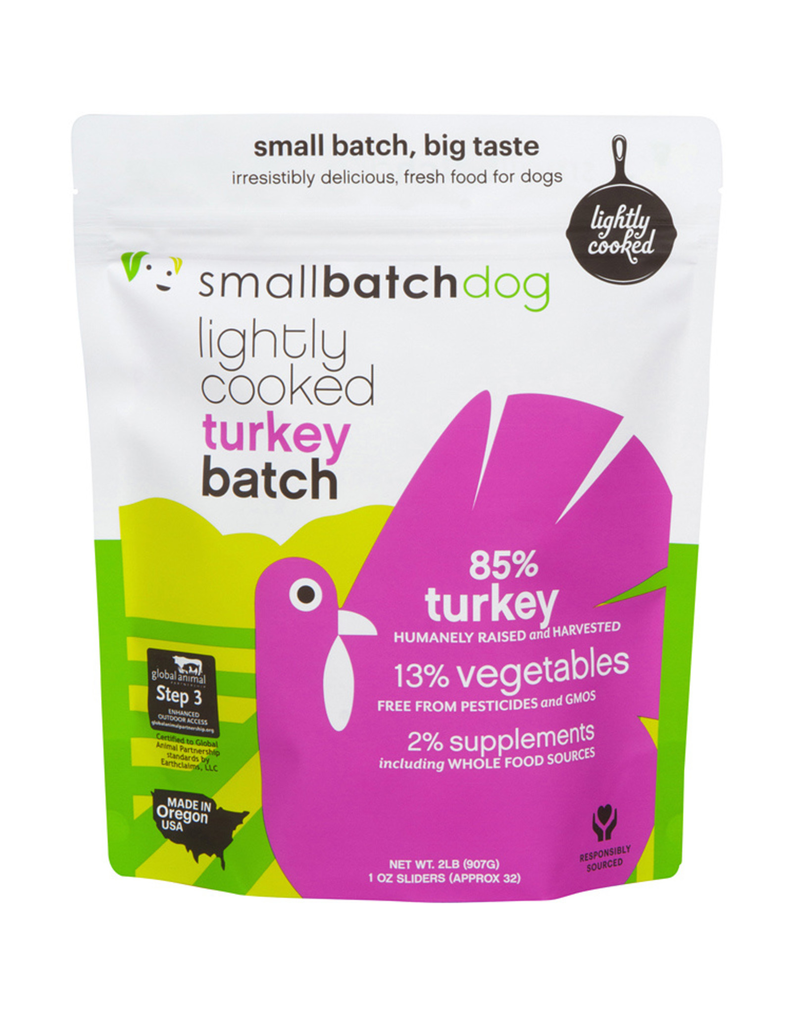 Small Batch Small Batch Frozen Lightly Cooked Dog Food