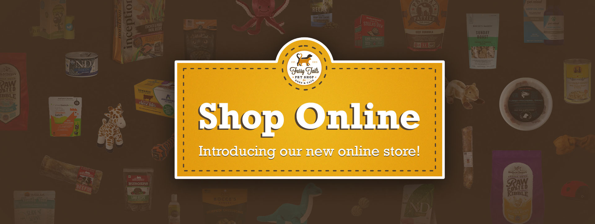 New Online Store Banner