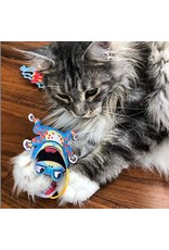 FUZZU FUZZU Fast Food Frog and French Flies Cat Toy