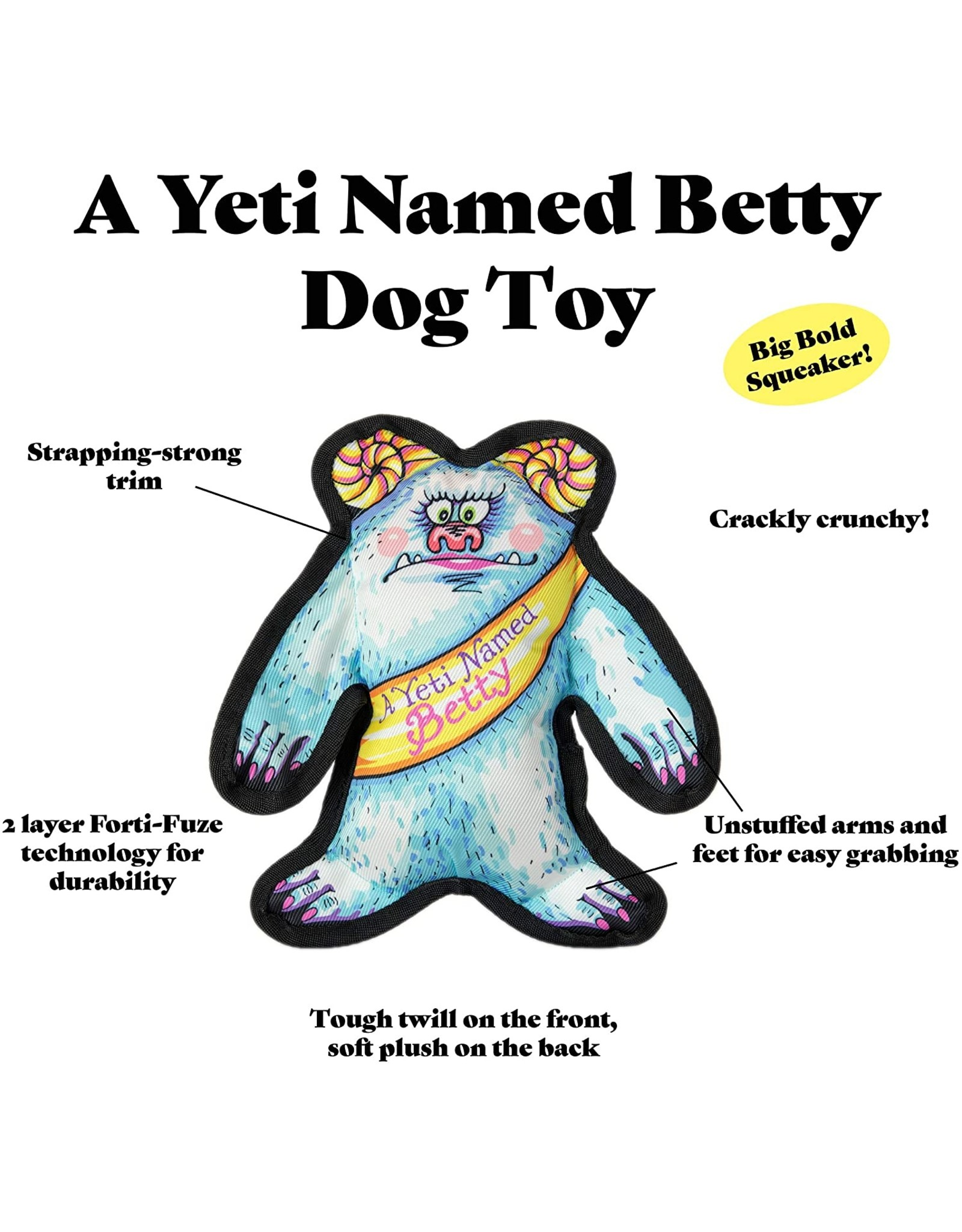 FUZZU FUZZU Wild Woodies Dog Toy