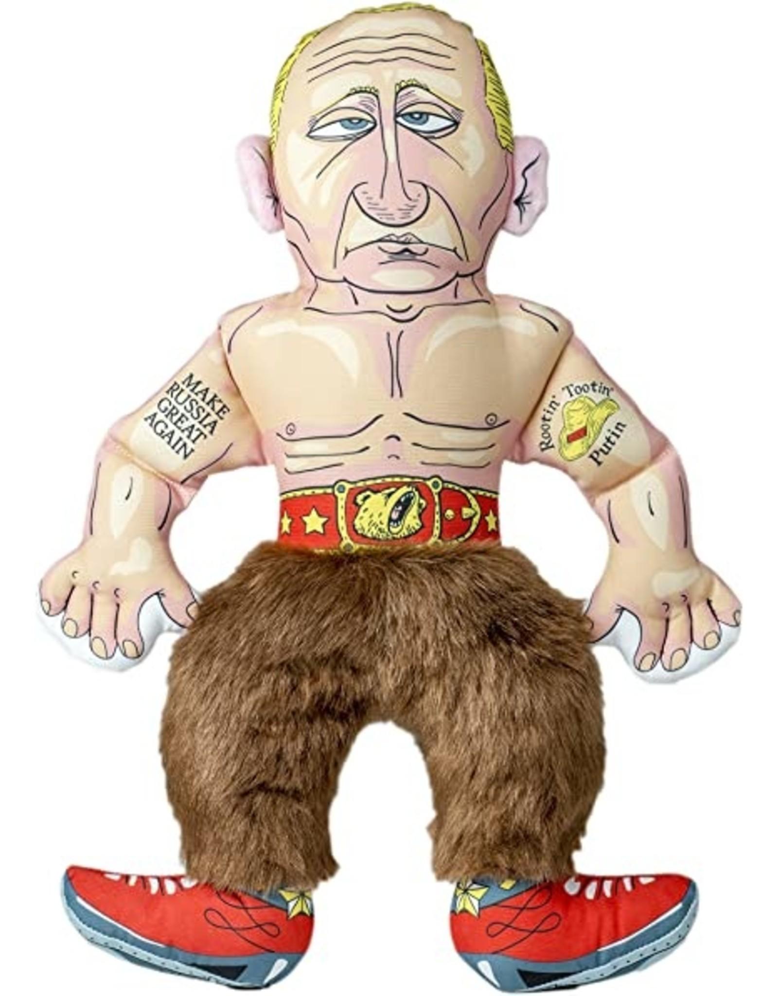 FUZZU FUZZU Political Parody Dog Toys