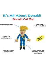 FUZZU FUZZU Political Parody Donald Trump Cat Toy