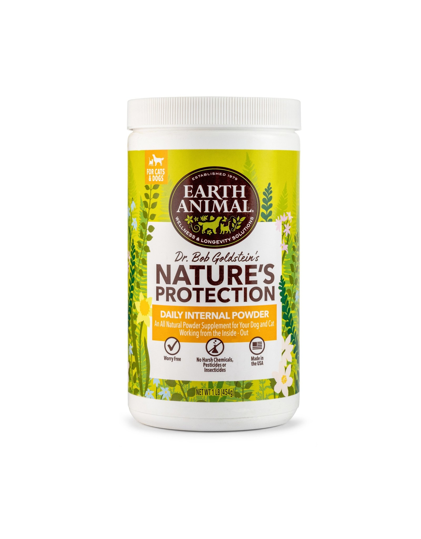 Earth Animal Earth Animal Flea & Tick Internal Powder