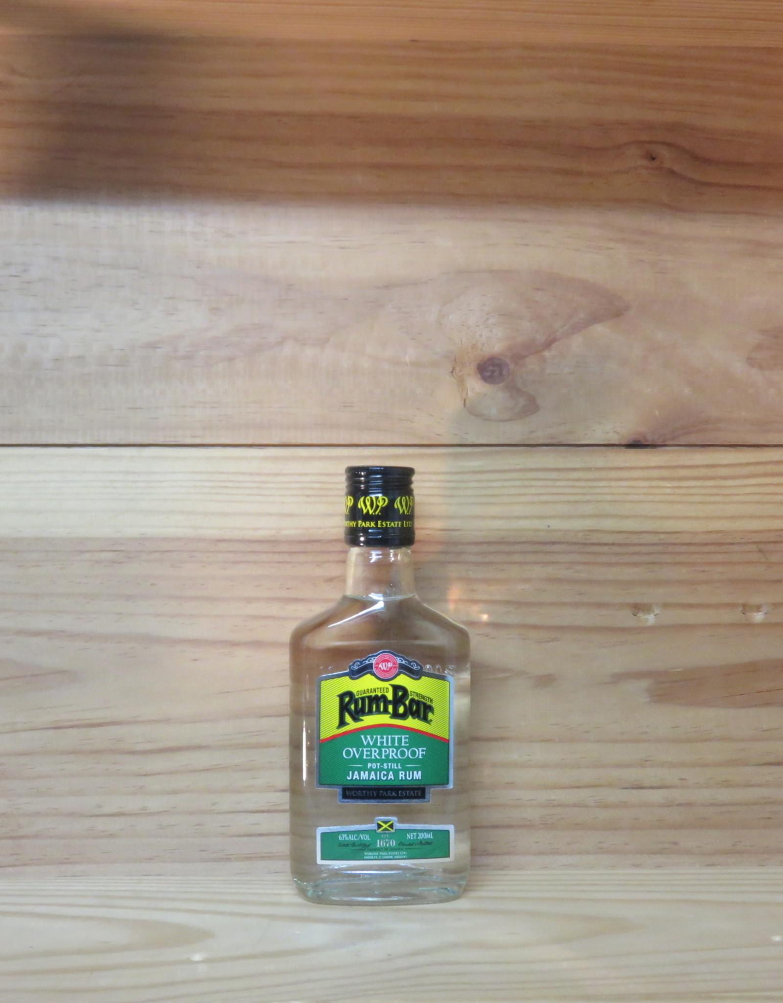 Worthy Park - Overproof White Rum 200ml