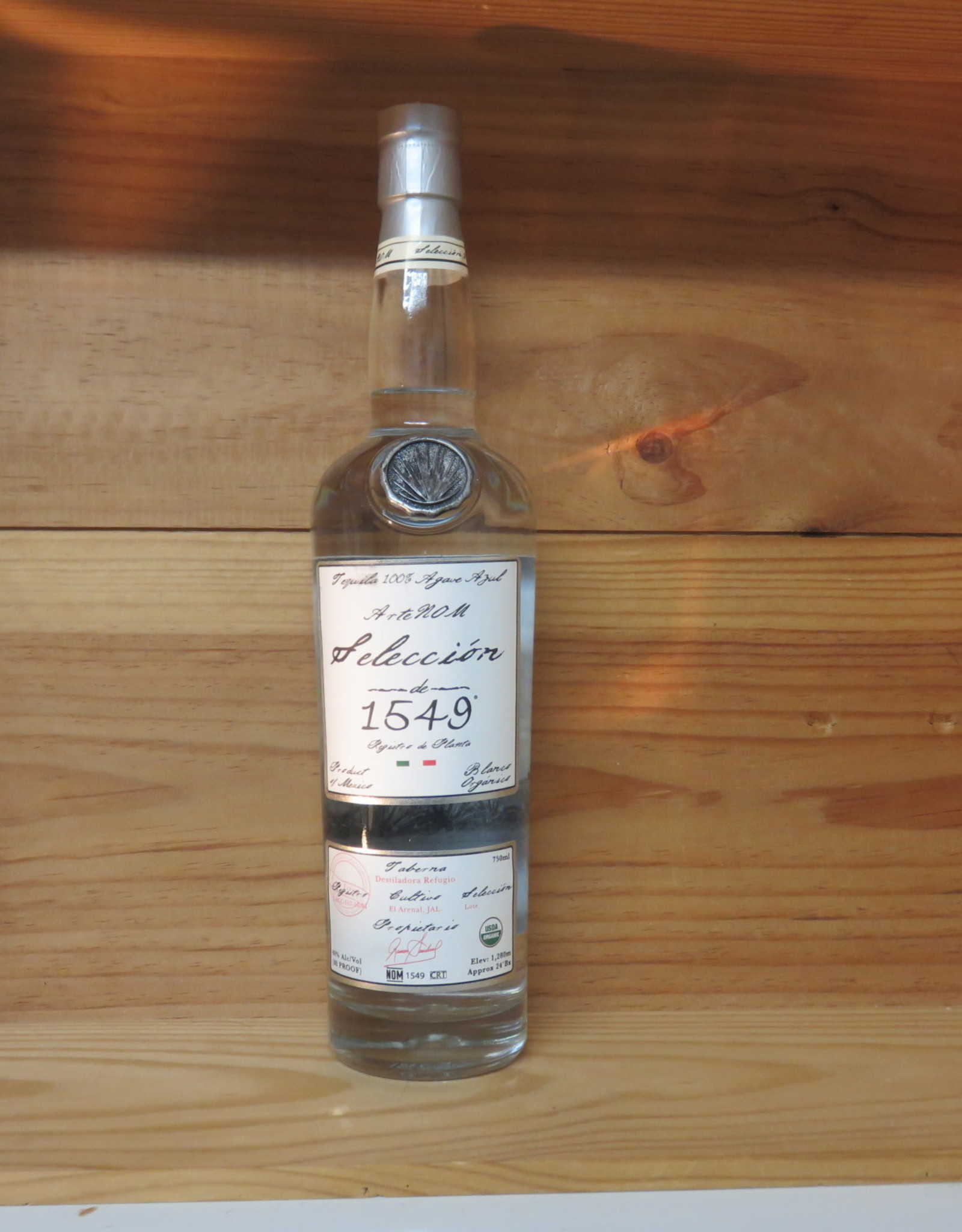 ArteNOM 1549 Blanco Lowland Tequila