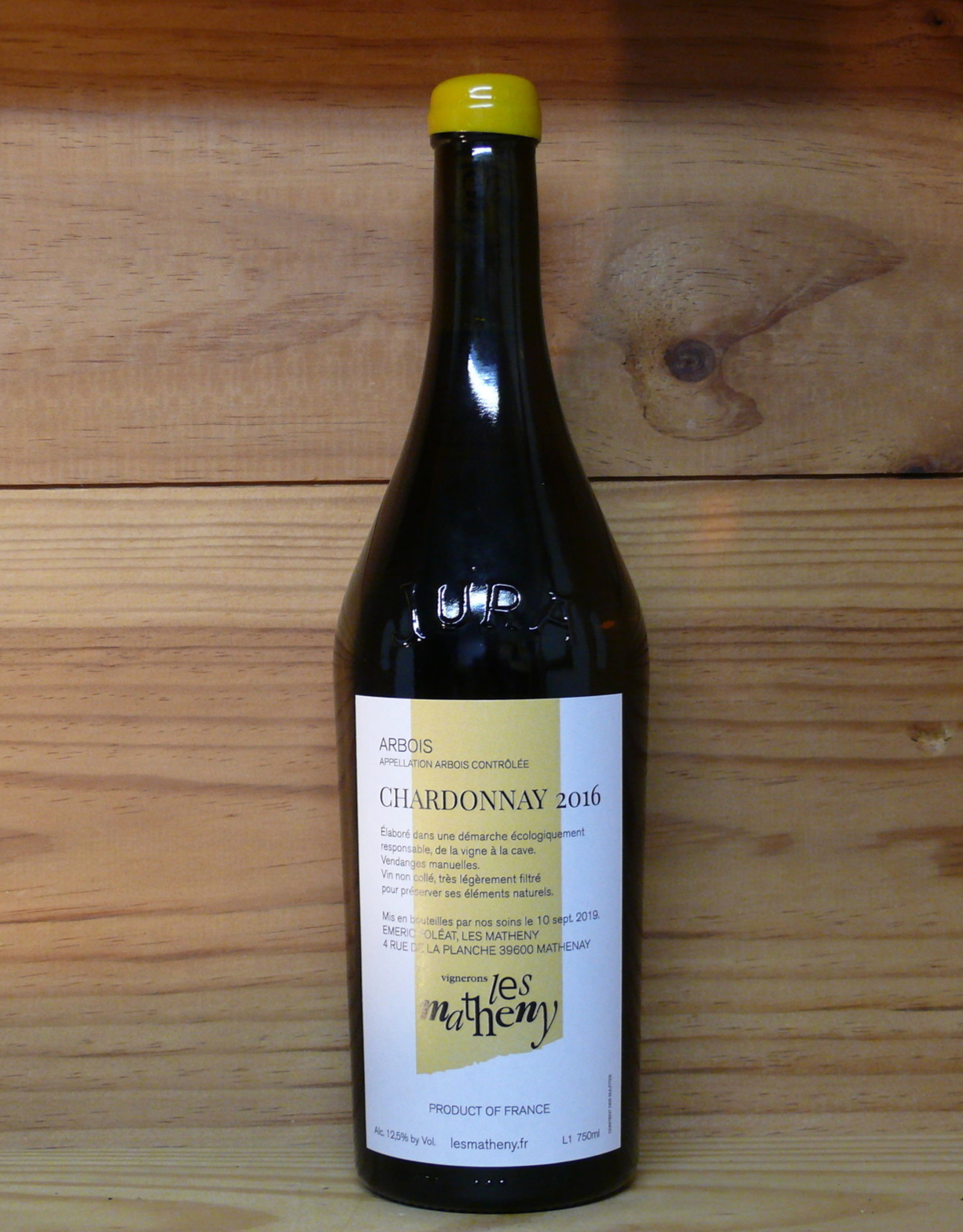 Les Matheny - Arbois Chardonnay 2016