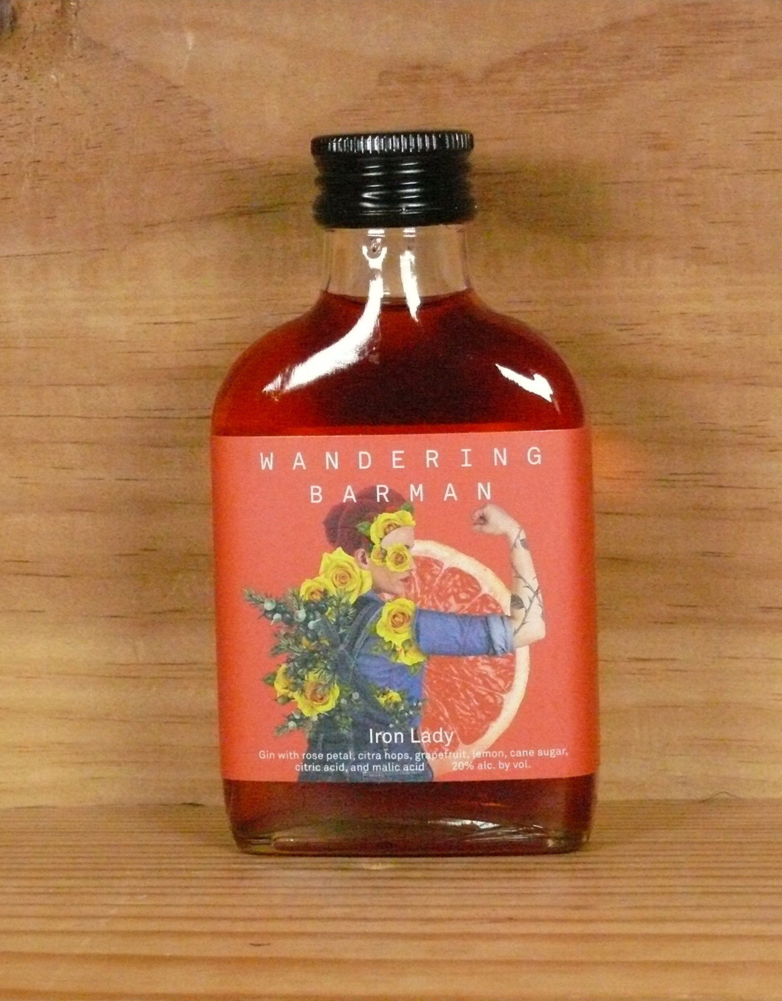 Wandering Barman IRON LADY Gin Cocktail (100ml)