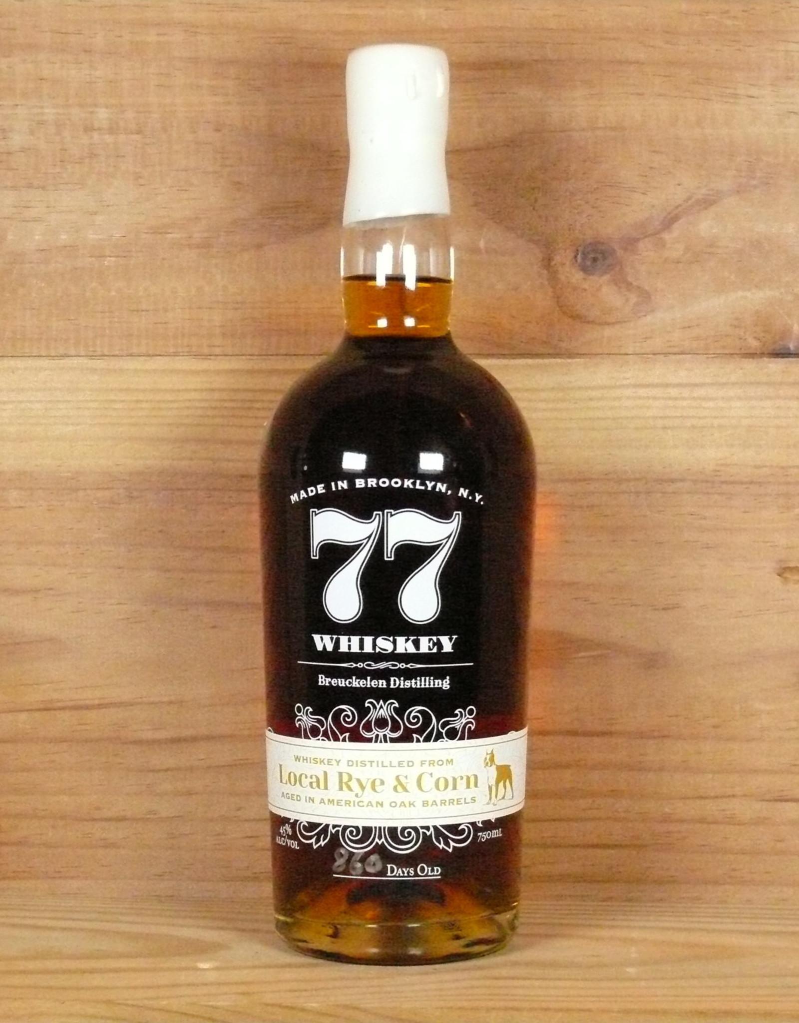 Breuckelen Distilling '77 Whiskey' Local Rye & Corn