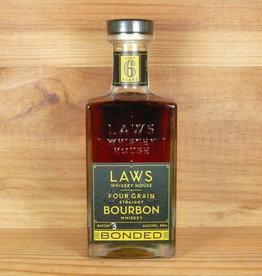 Laws Whiskey House - Four Grain Straight 6 yr Bourbon