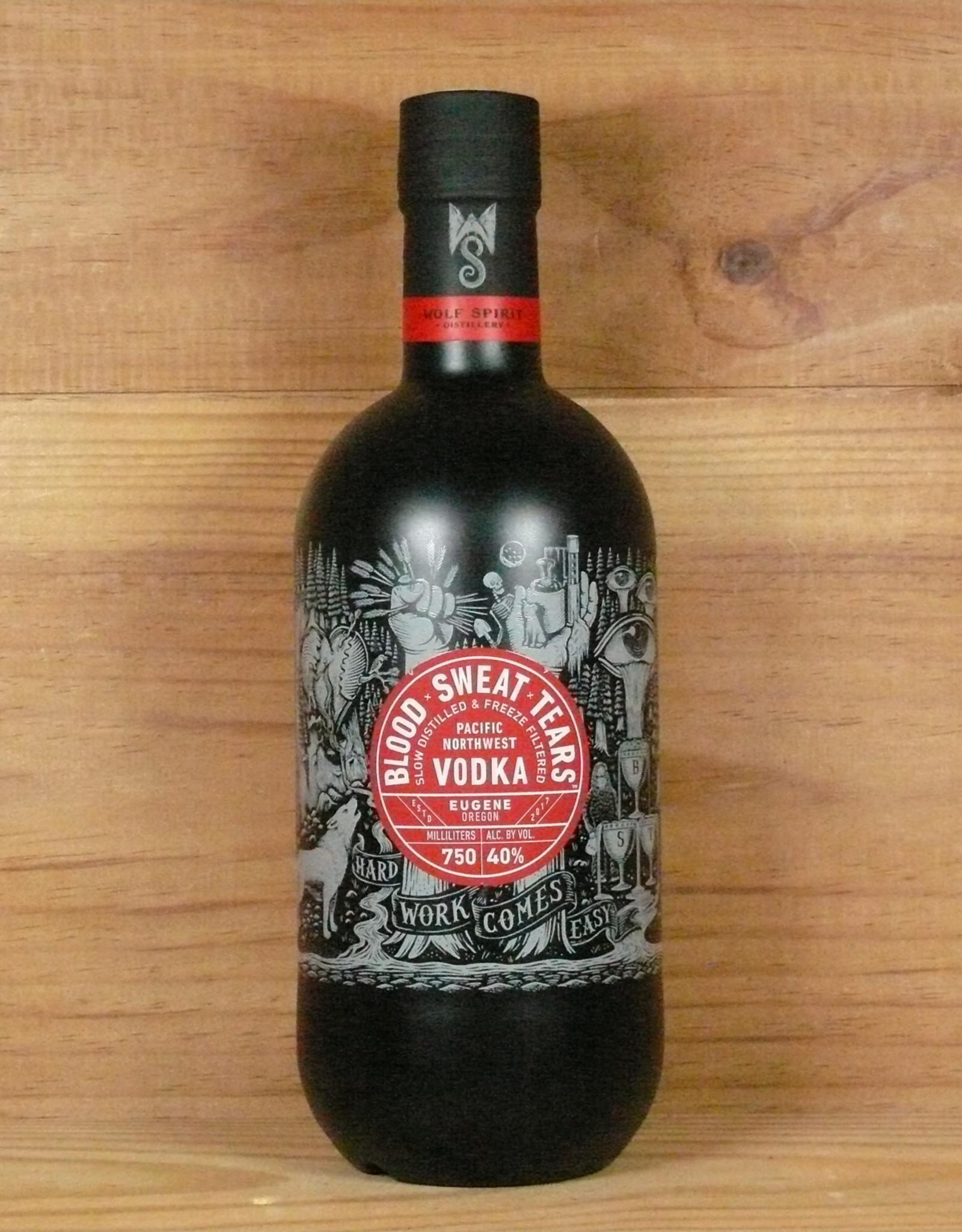 "Wolf Spirits Distillery ""Blood, Sweat & Tears"" Vodka"