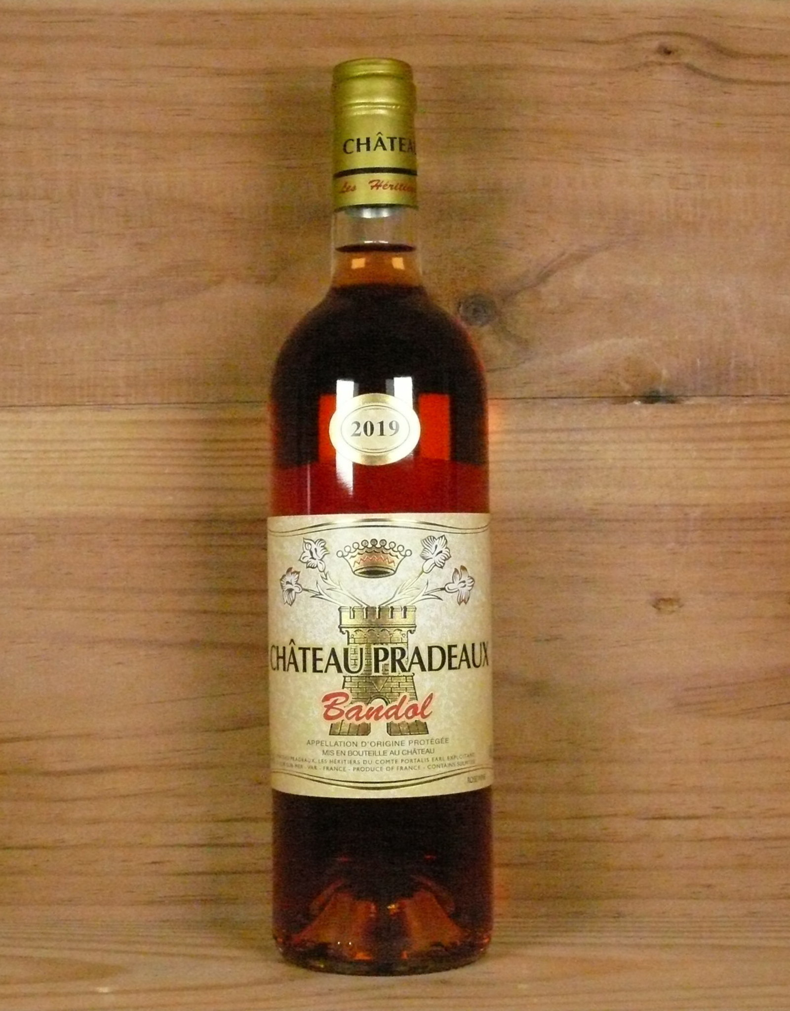 """Château Pradeaux """"Bandol Rosé"""" 2019"""