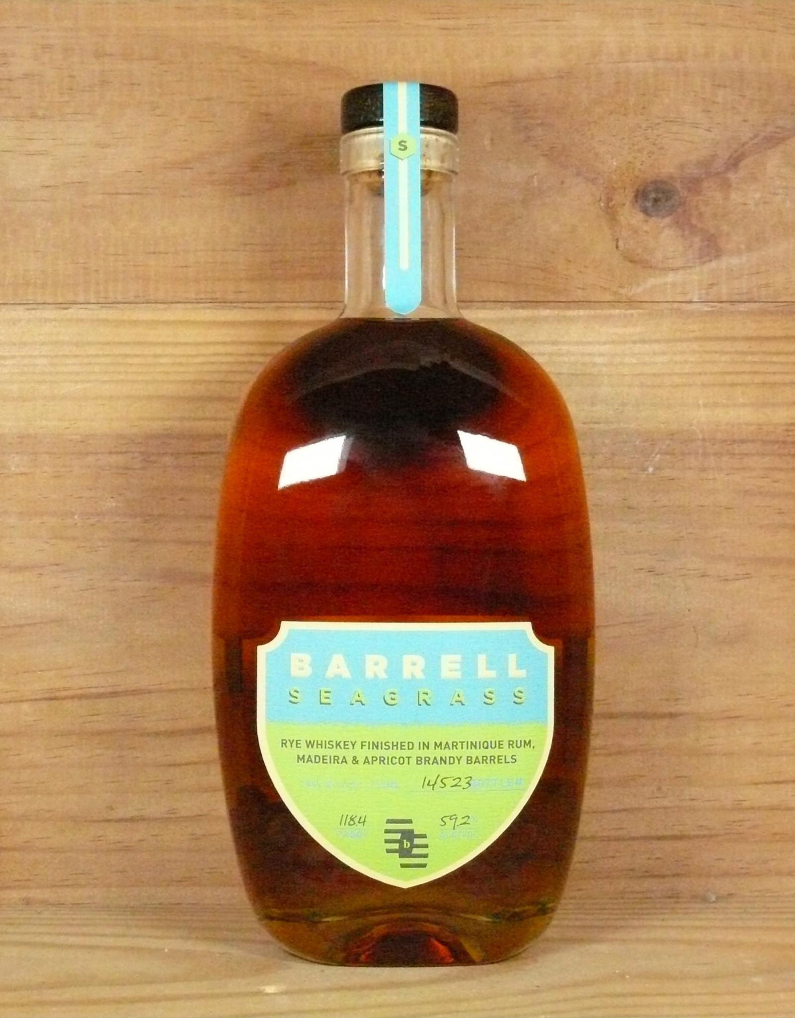 "Barrell Whiskey ""Seagrass"" Rye Whiskey"