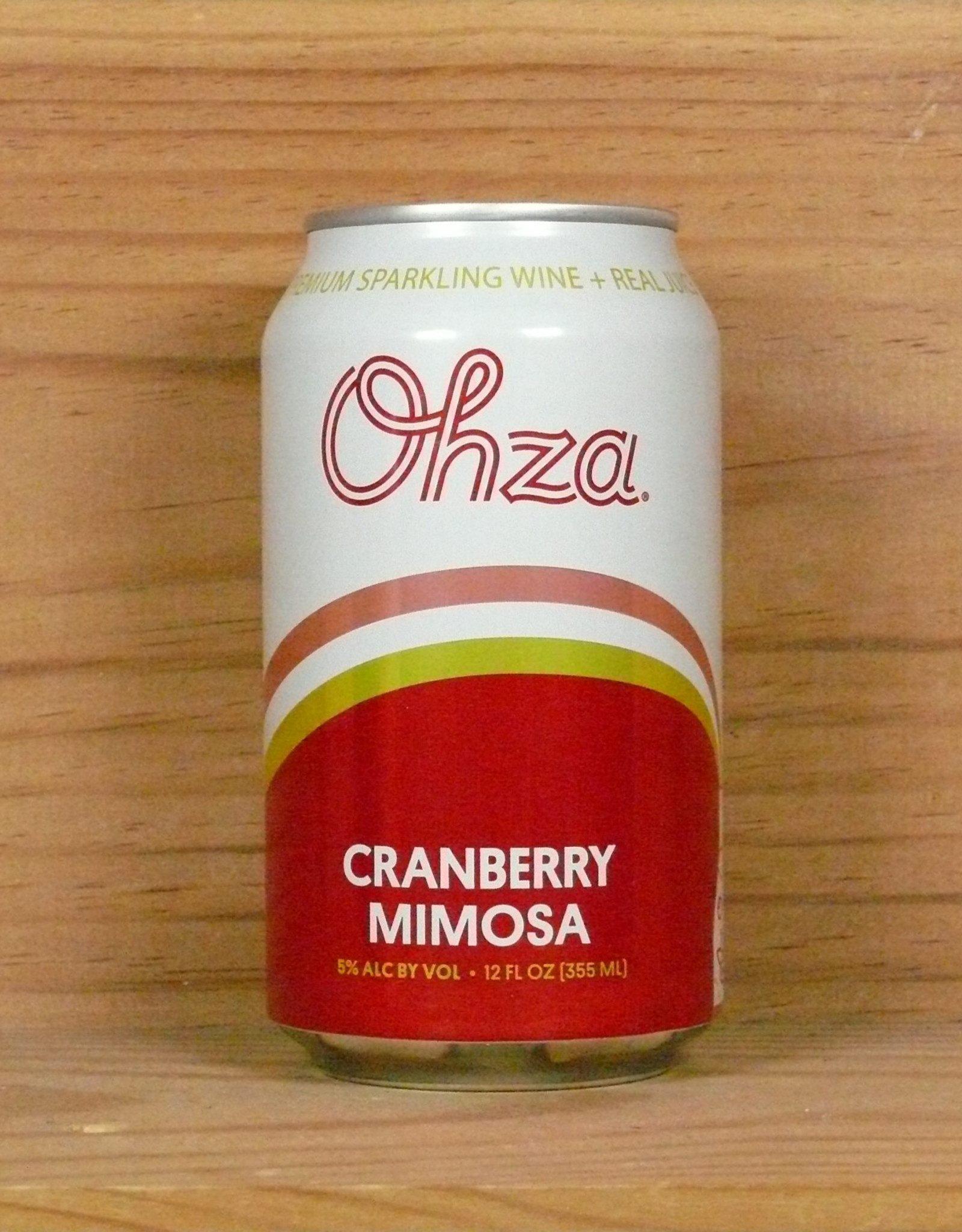 Ohza - Cranberry Mimosa in a can!