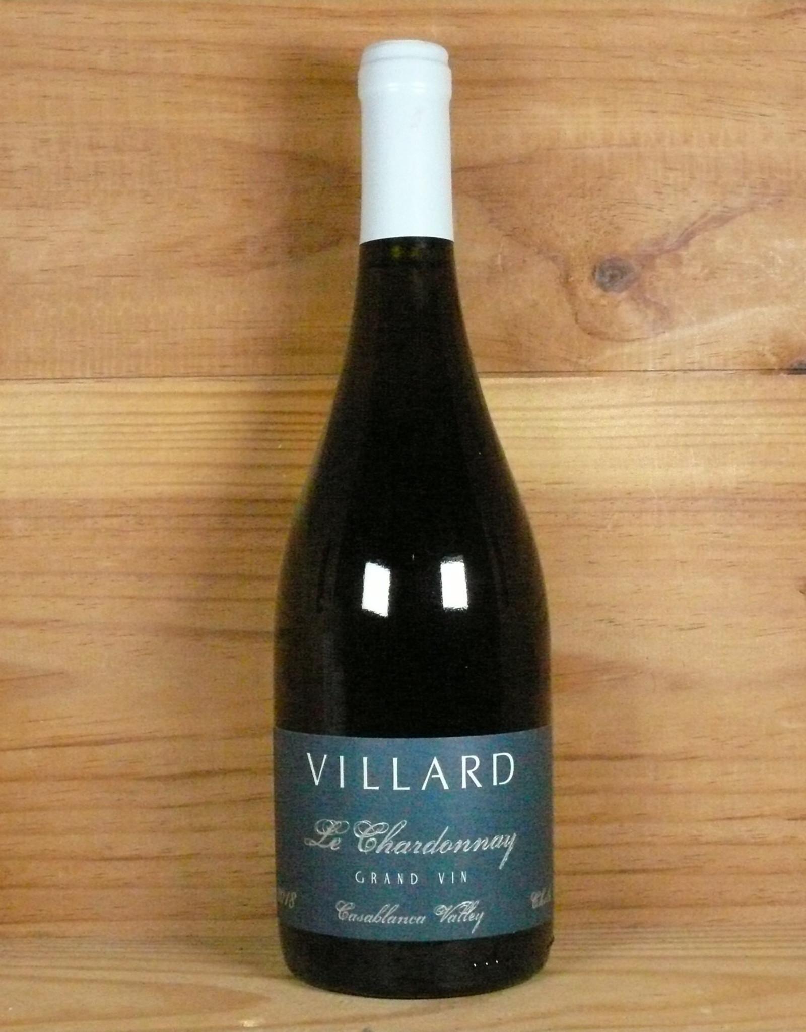 "Villard ""Le Chardonnay Grand Vin"" 2018"