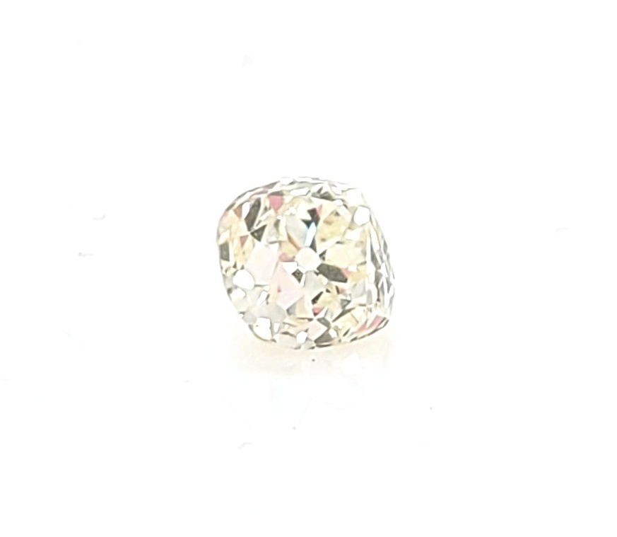 Old European Cut Diamond 0.99ct, K color, I1 clarity, GIA