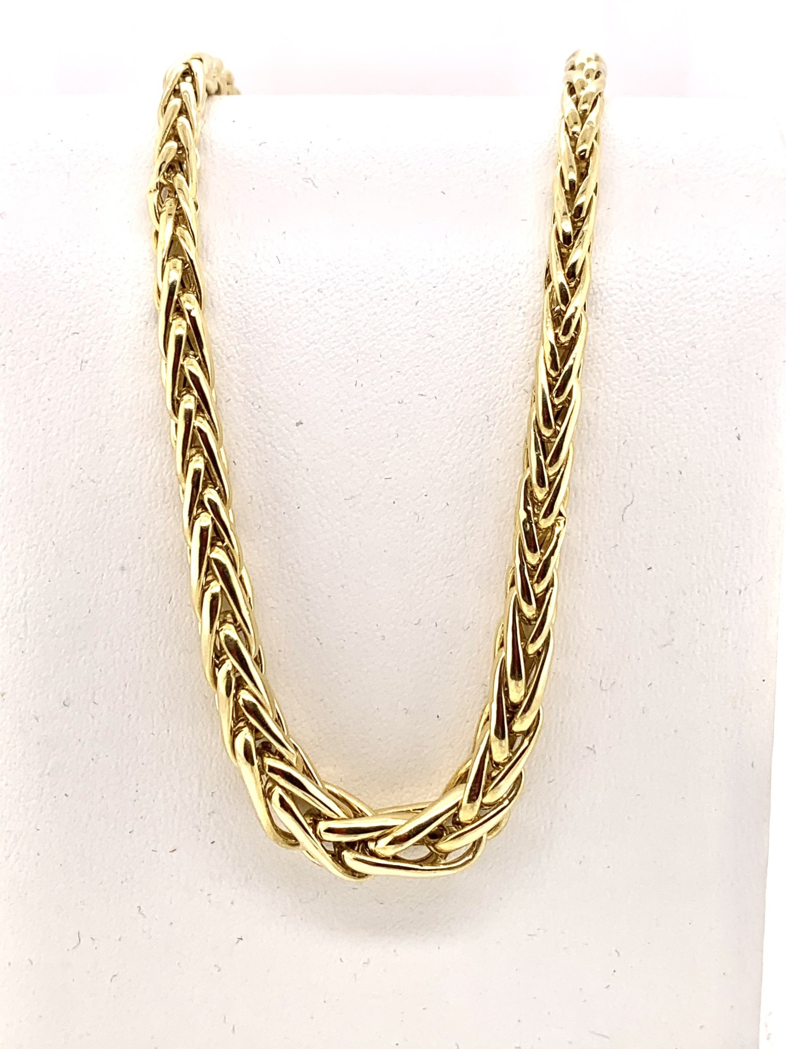 18k yellow gold 17 in chain w/ lobster clasp