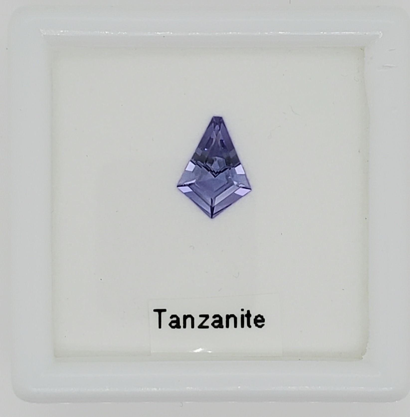 1.19 CT Loose Kite Shaped Tanzanite