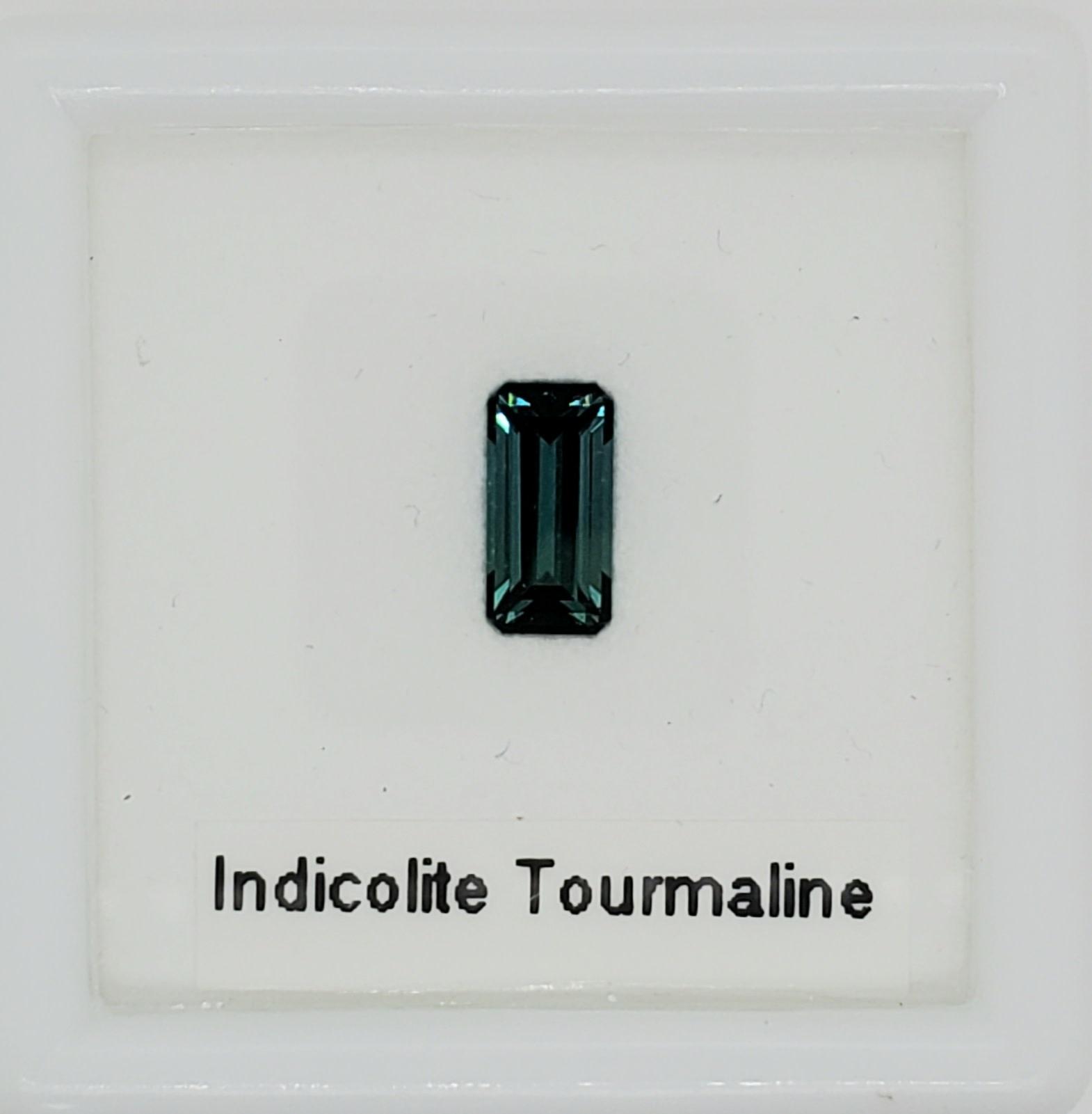 1.28 CT Loose Indicolite Tourmaline