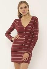 Amuse AMUSE Baciami LS Knit Dress