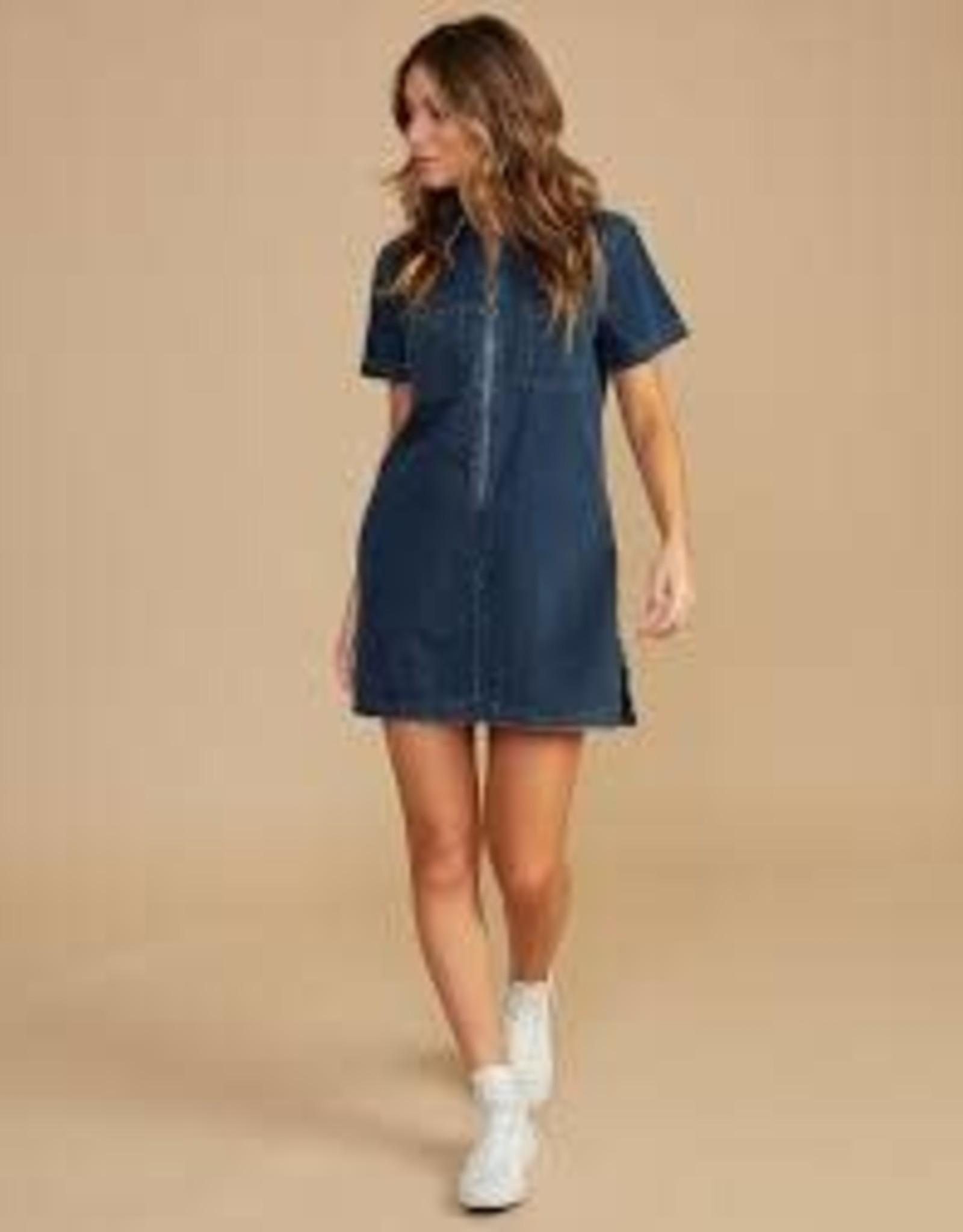 RVCA Handle Denim Dress