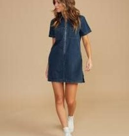 RVCA Handle Denim Dress