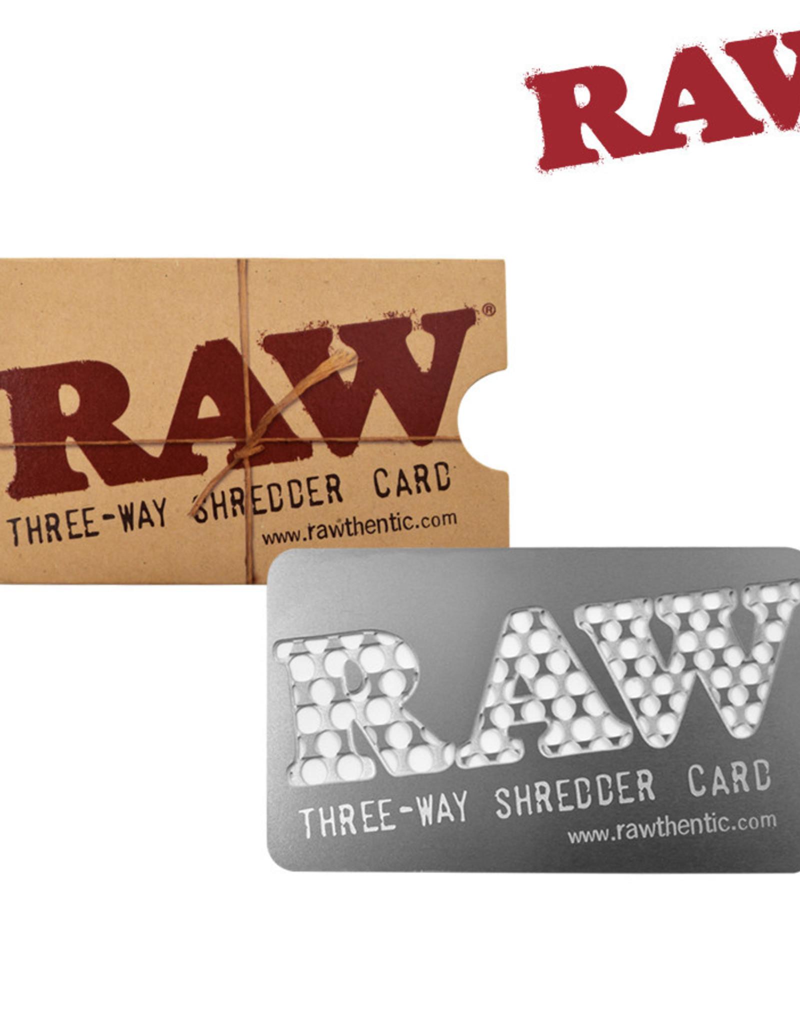 Raw V Syndicate Card Grinder