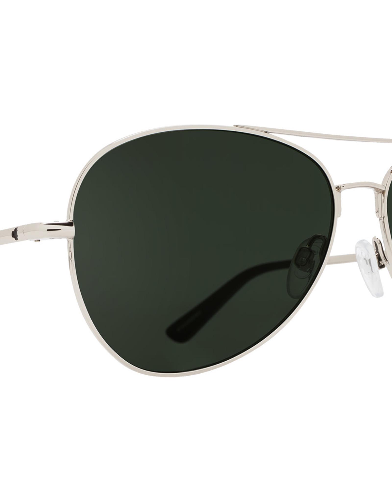 SPY Whistler Silver happy gray green polarized