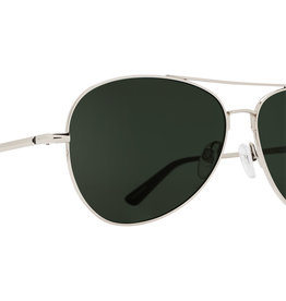 SPY Whistler Silver happy gray green polarized