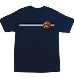 Santa Cruz Classic Dot nvy tshirt MD