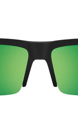 SPY Cyrus 5050 sft matte black translucent green