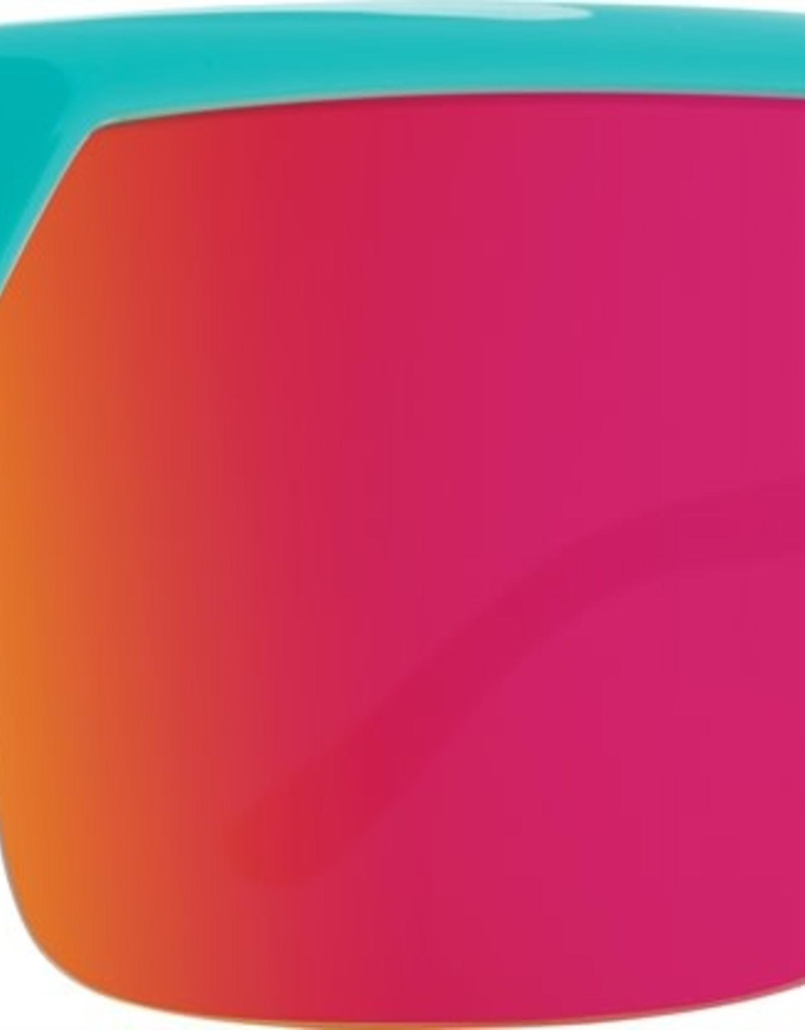 SPY Flynn 5050 Tealhdplus gray grn w/ pink spectra mirror