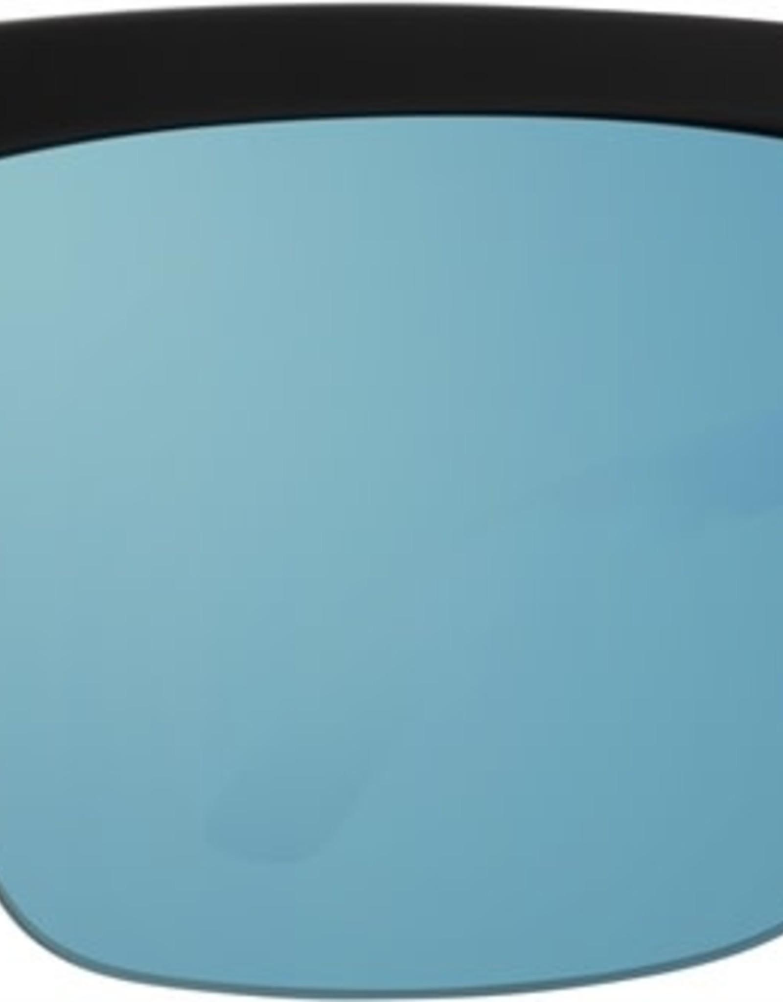 SPY Helm 5050 Mte Blk Clear hd+ gry grn w/lightblue spectra