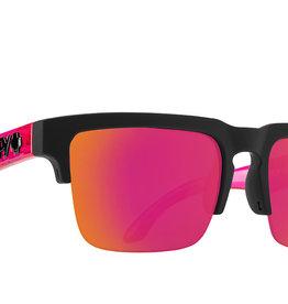 SPY Helm 50505 sft mte blk translucent pink mirror