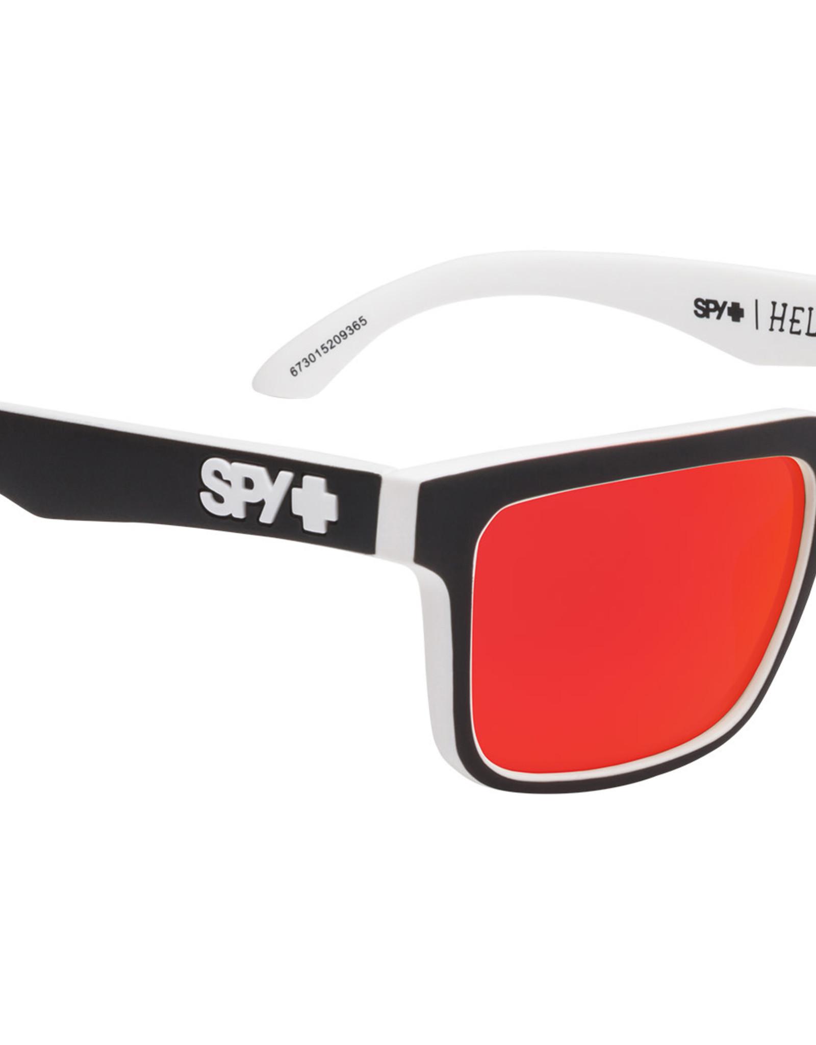 SPY Helm Whitewall HD+ redspectramirror