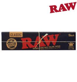 RAW RAW BLACK KINGSIZE SLIM