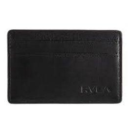 RVCA Clean Card Wallet BLK