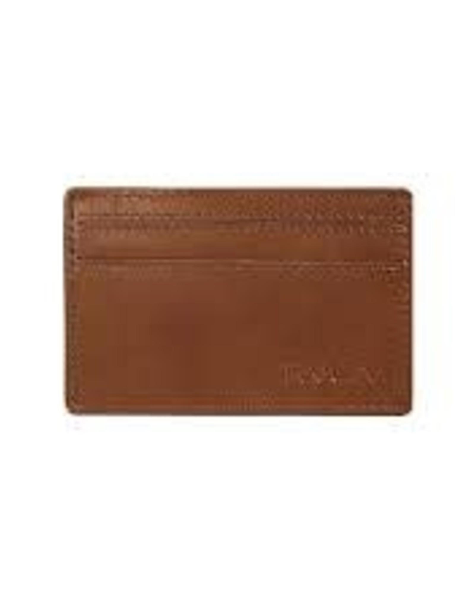 RVCA Clean Card Wallet TAN
