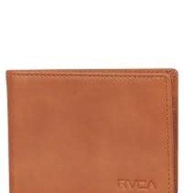 RVCA Crest Bifold Wallet brn