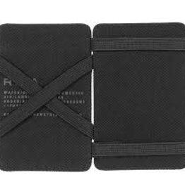 RVCA Leather Magic Wallet BLK