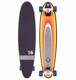ZFlex Zflex Long Board Surf skate a-gogo log roll 37