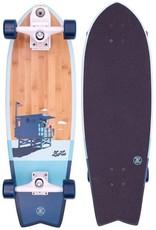 ZFlex Z-Flex Complete Skateboard Bamboo Surfskate Fish